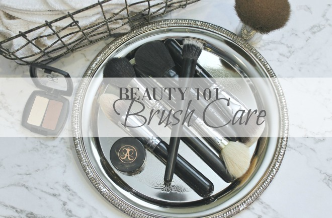 beauty 101 brush care